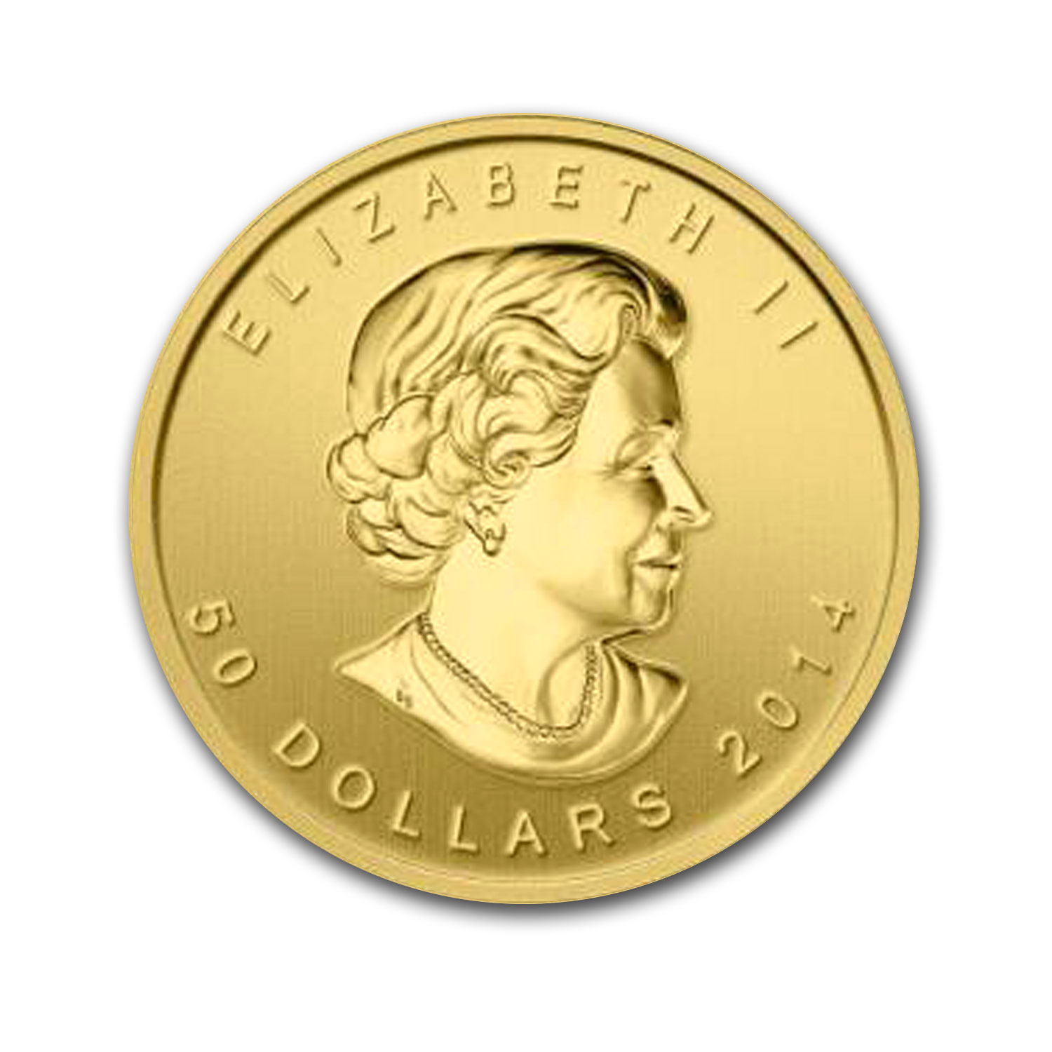2014 Canada 1 oz Gold $50 Five Blessings BU